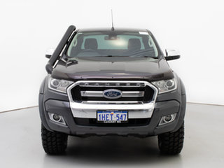 2017 Ford Ranger PX MkII MY17 XLT 3.2 (4x4) Grey 6 Speed Automatic Super Cab Utility.
