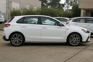 2020 Hyundai i30 PD.V4 MY21 N Line D-CT Premium Polar White 7 Speed Sports Automatic Dual Clutch