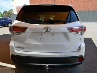 2016 Toyota Kluger GSU50R GX 2WD White 8 Speed Sports Automatic Wagon