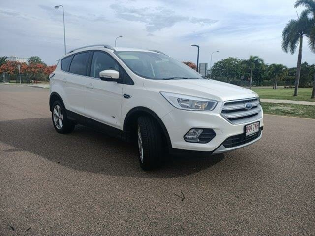 Used Ford Escape ZG 2019.75MY Trend Townsville, 2019 Ford Escape ZG 2019.75MY Trend White Platinum 6 Speed Sports Automatic Dual Clutch SUV