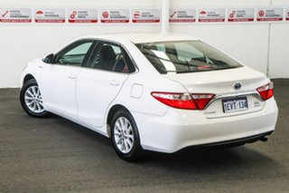 2015 Toyota Camry AVV50R MY15 Altise Hybrid Diamond White Continuous Variable Sedan.
