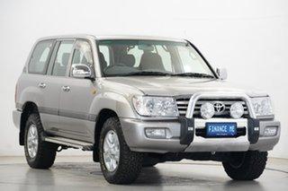 2007 Toyota Landcruiser UZJ100R GXL Silver 5 Speed Automatic Wagon.