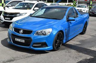 2015 Holden Ute VF MY15 SV6 Ute Blue 6 Speed Manual Utility