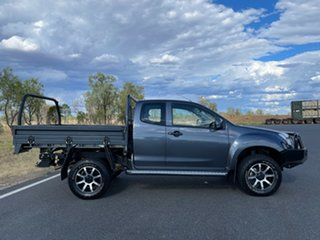 2018 Isuzu D-MAX MY17 SX Space Cab Obsidian Grey 6 Speed Sports Automatic Cab Chassis.