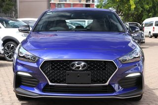 2021 Hyundai i30 PD.V4 MY21 N Line D-CT Intense Blue 7 Speed Sports Automatic Dual Clutch Hatchback