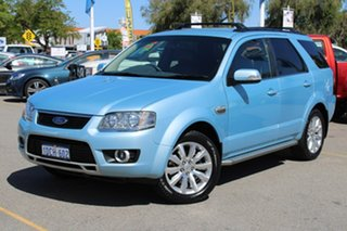 2009 Ford Territory SY MkII Ghia AWD Blue 6 Speed Sports Automatic Wagon.