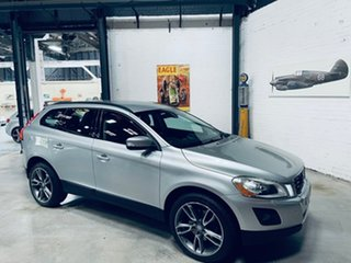 2009 Volvo XC60 DZ MY10 T6 Geartronic AWD Silver 6 Speed Sports Automatic Wagon.