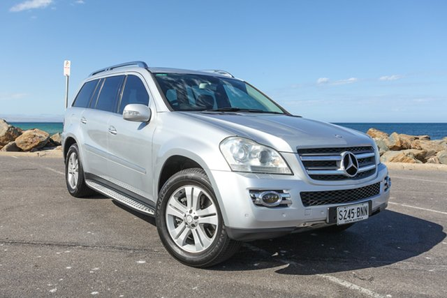 Used Mercedes-Benz GL-Class X164 GL320 CDI Lonsdale, 2008 Mercedes-Benz GL-Class X164 GL320 CDI Silver 7 Speed Sports Automatic Wagon