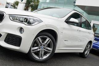 2017 BMW X1 F48 MY17 sDrive 18D Alpine White 8 Speed Automatic Wagon.