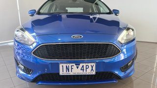 2018 Ford Focus LZ Sport Winning Blue 6 Speed Manual Hatchback.