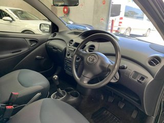 2003 Toyota Echo NCP10R MY03 Black 5 Speed Manual Hatchback