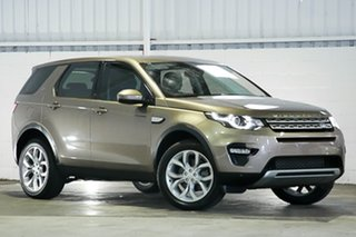 2015 Land Rover Discovery Sport L550 15MY HSE Beige 9 Speed Sports Automatic Wagon.