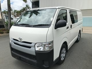 2017 Toyota HiAce TRH201R LWB French Vanilla 6 speed Automatic Van.