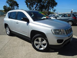 2013 Jeep Compass MK MY13 Sport Silver 5 Speed Manual Wagon.