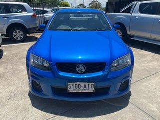 2010 Holden Ute VE MY10 SV6 Blue 6 Speed Sports Automatic Utility.
