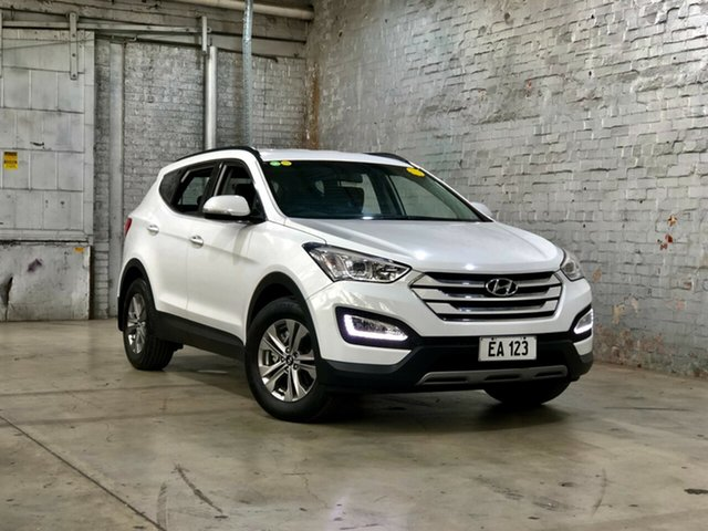 Used Hyundai Santa Fe DM2 MY15 Active Mile End South, 2015 Hyundai Santa Fe DM2 MY15 Active White 6 Speed Sports Automatic Wagon