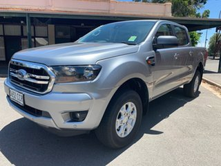 2019 Ford Ranger PX MkIII 2019.00MY XLS Silver 6 Speed Sports Automatic Double Cab Pick Up