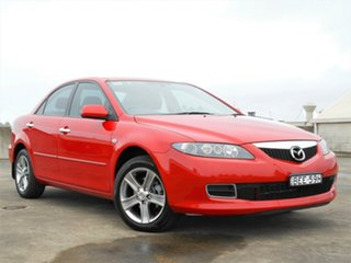 2007 Mazda 6 GG1032 MY07 Sports Red 5 Speed Sports Automatic Sedan.