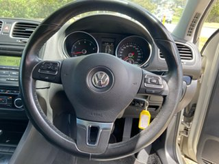 2010 Volkswagen Golf VI MY10 118TSI DSG Comfortline Silver 7 Speed Sports Automatic Dual Clutch