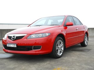 2007 Mazda 6 GG1032 MY07 Sports Red 5 Speed Sports Automatic Sedan