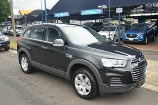2016 Holden Captiva CG MY15 7 LS (FWD) Black 6 Speed Automatic Wagon.