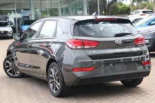 2021 Hyundai i30 PD.V4 MY21 Elite Phantom Black 6 Speed Sports Automatic Hatchback