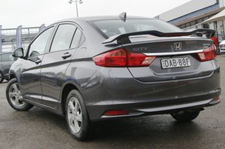 2015 Honda City GM MY14 VTi-L Grey 7 Speed Constant Variable Sedan.