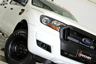2016 Ford Ranger PX MkII MY17 XL 2.2 Hi-Rider (4x2) White 6 Speed Automatic Crew Cab Pickup.