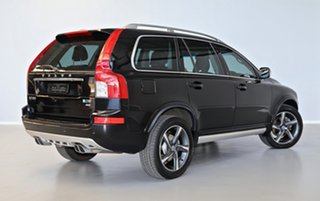 2012 Volvo XC90 P28 MY12 D5 Geartronic R-Design Black 6 Speed Sports Automatic Wagon.
