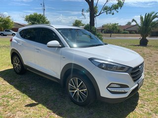 2015 Hyundai Tucson TL Active X 2WD Pure White 6 Speed Sports Automatic Wagon.