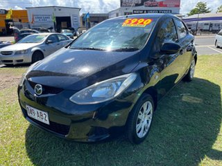 2008 Mazda 2 DE10Y1 Neo Black 5 Speed Manual Hatchback.