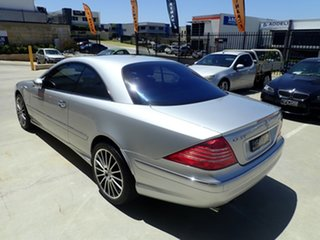 2003 Mercedes-Benz CL-Class C215 MY04 CL55 AMG Silver Metallic 5 Speed Sports Automatic Coupe