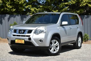 2011 Nissan X-Trail T31 Series IV TS Silver 6 Speed Manual Wagon.