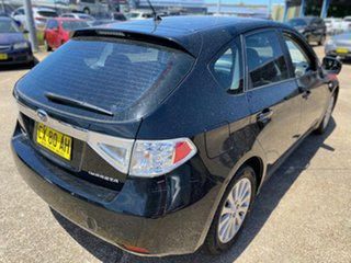 2009 Subaru Impreza G3 MY09 R AWD Black 5 Speed Manual Hatchback