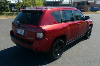 2014 Jeep Compass MK MY14 Blackhawk CVT Auto Stick Red 6 Speed Constant Variable Wagon.