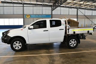 2016 Isuzu D-MAX TF MY15.5 LS-M HI-Ride (4x4) Splash White 5 Speed Automatic Crew Cab Utility