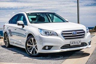 2016 Subaru Liberty B6 MY16 2.5i CVT AWD White 6 Speed Constant Variable Sedan.