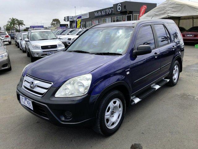 Used Honda CR-V 2005 Upgrade (4x4) Cheltenham, 2005 Honda CR-V 2005 Upgrade (4x4) Blue 5 Speed Manual Wagon