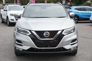 2018 Nissan Qashqai J11 Series 2 Ti X-tronic Silver 1 Speed Constant Variable Wagon.
