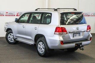 2011 Toyota Landcruiser VDJ200R MY10 GXL Silver Pearl 6 Speed Sports Automatic Wagon.