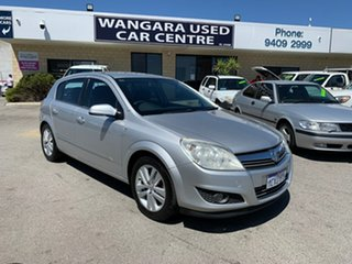 2008 Holden Astra AH MY08.5 CDTi Silver 6 Speed Manual Hatchback.