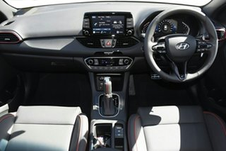 2021 Hyundai i30 PD.V4 MY21 N Line D-CT White 7 Speed Sports Automatic Dual Clutch Hatchback