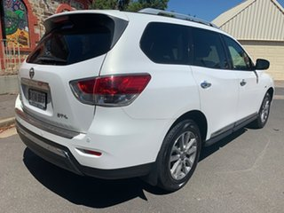 2013 Nissan Pathfinder R52 MY14 ST-L X-tronic 2WD White 1 Speed Constant Variable Wagon