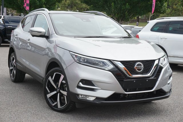 Used Nissan Qashqai J11 Series 2 Ti X-tronic Phillip, 2018 Nissan Qashqai J11 Series 2 Ti X-tronic Silver 1 Speed Constant Variable Wagon