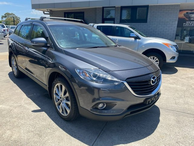 Used Mazda CX-9 TB10A5 Grand Touring Activematic AWD Hillcrest, 2014 Mazda CX-9 TB10A5 Grand Touring Activematic AWD Grey 6 Speed Sports Automatic Wagon