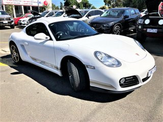 2010 Porsche Cayman 987 MY11 PDK White 7 Speed Sports Automatic Dual Clutch Coupe.