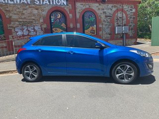 2015 Hyundai i30 GD3 Series II MY16 Active X Marina Blue 6 Speed Sports Automatic Hatchback.