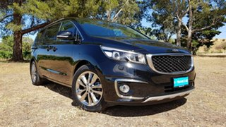 2017 Kia Carnival YP MY17 Platinum Black/Grey 6 Speed Sports Automatic Wagon.