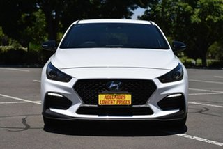 2019 Hyundai i30 PD.3 MY20 N Line D-CT White 7 Speed Sports Automatic Dual Clutch Hatchback.