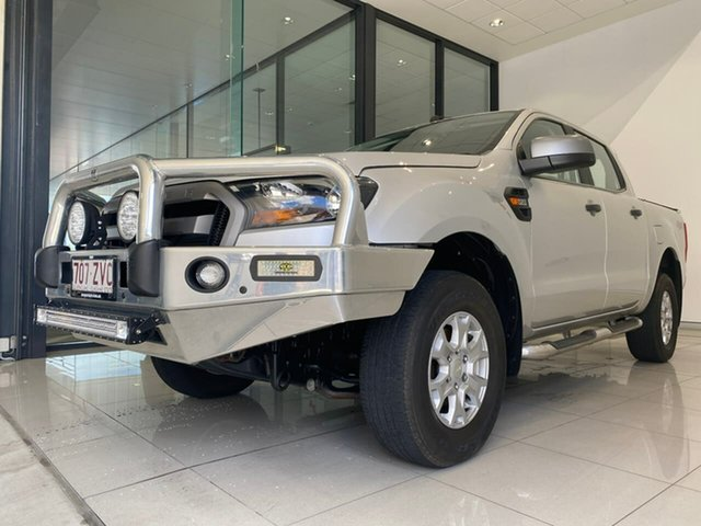 Used Ford Ranger PX MkII XLS Double Cab Aspley, 2017 Ford Ranger PX MkII XLS Double Cab Silver 6 Speed Sports Automatic Utility